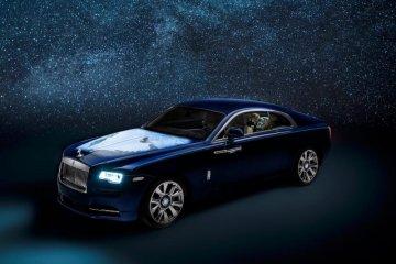 "Mobil sultan Rolls Royce Wraith ""Earth"" gambarkan peta Timur Tengah"