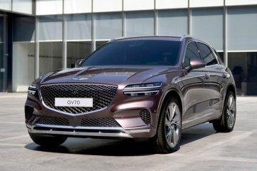 Hyundai ungkap desain Genesis GV70 SUV