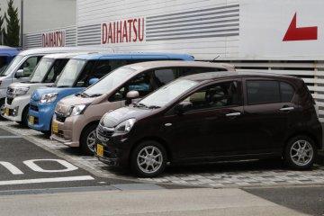 Daihatsu produksi 30 juta unit mobil di Jepang