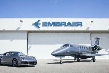 Beli pesawat jet dari Embraer bisa dapat Porsche 911 Turbo S