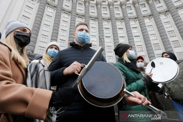 Ukraina catat kasus harian COVID-19 terendah sejak akhir September