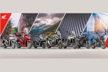 Honda umumkan tujuh motor baru