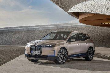 BMW iX, sang penantang Tesla di Amerika Serikat