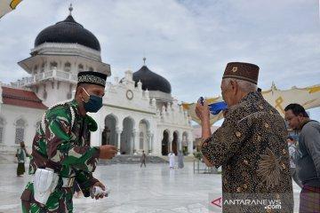 Masjid tempat edukasi COVID-19