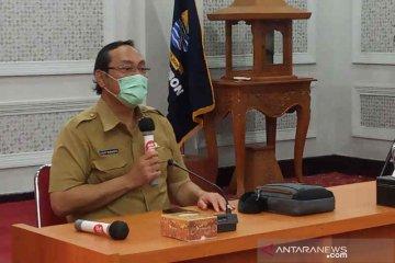 Ruang isolasi khusus pasien COVID-19 di RS Kota Cirebon penuh