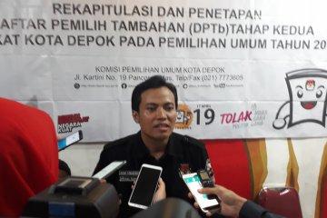 KPU Depok: Tak terdaftar di DPT, gunakan KTP untuk mencoblos di TPS