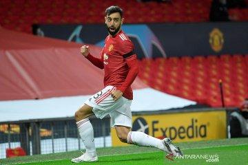 Solksjaer berharap pemain MU belajar mentalitas dari Bruno Fernandes