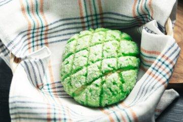 """Roti khas Jepang """"Melonpan"""" kini bisa dinikmati pencinta kuliner di Bandung"""