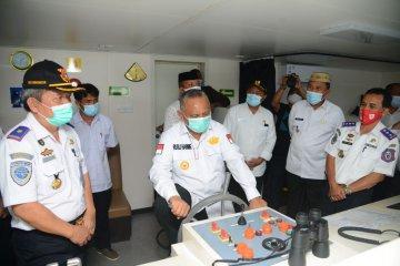 KM Sabuk Nusantara beroperasi di Tilamuta awal Desember