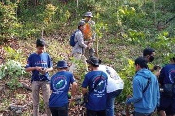 DLH Paser dan KPK tanam pohon di area Tahura