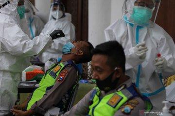 Tes usap personel pengamanan Pilkada Surabaya 2020