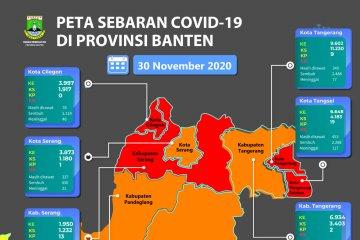 Empat daerah di Banten kembali menjadi  zona merah COVID-19
