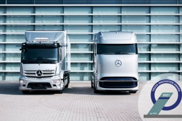 Mercedes-Benz eActros dan GenH2 raih Truck Innovation Award