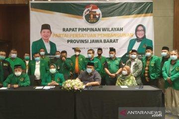 PPP Jabar dorong pemilihan ketum di Muktamar IX aklamasi