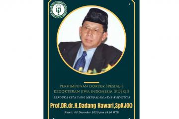 Prof Dadang Hawari meninggal dunia