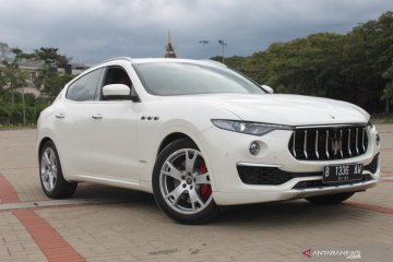 Intip Maserati Levante edisi Ermenegildo Zegna yang ada di Indonesia