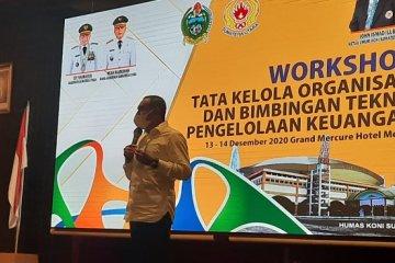 Gubernur Sumut minta KONI jemput bola cari atlet potensial
