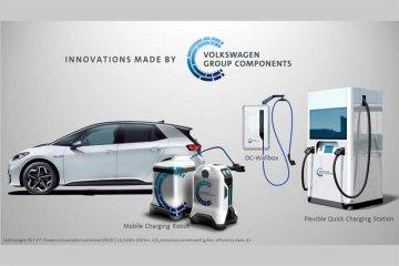 VW ujicoba wallbox pengisi daya mobil listrik