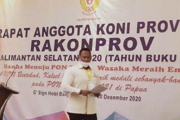KONI Kalsel harapkan kelola sendiri anggaran menuju PON Papua