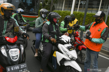 Wagub DKI: ojek-taksi daring wajib miliki STRP karena aturan