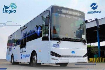 Infrastruktur bus listrik untuk armada TransJakarta telah siap