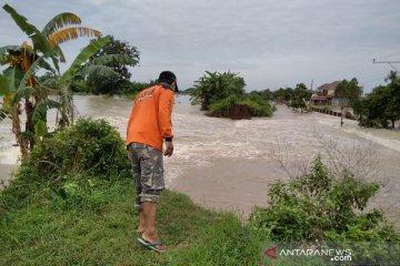 Tanggul Sungai Gelis di Kabupaten Kudus jebol