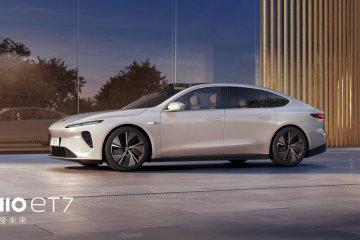 NIO rilis sedan listrik ET7 dengan desain dan fitur futuristik