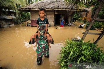 Banjir, dominasi peristiwa bencana di Aceh awal 2021
