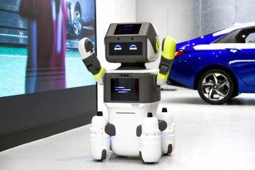 Hyundai luncurkan robot layani konsumen di diler