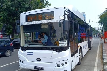 Tiga provinsi siap pakai bus listrik Bakrie-BYD