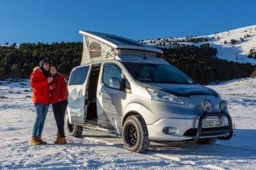 Nissan kenalkan van listrik untuk kamping keluarga