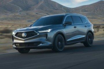 Acura MDX 2022 tersedia di diler mulai hari ini
