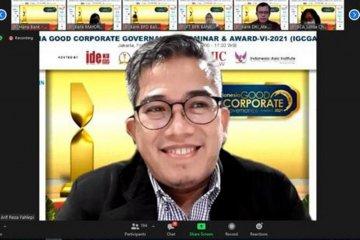 MTF perusahaan pembiayaan terbaik GCG Award 2021