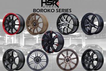 HSR Wheel hadirkan Boroko Series untuk modifikasi JDM