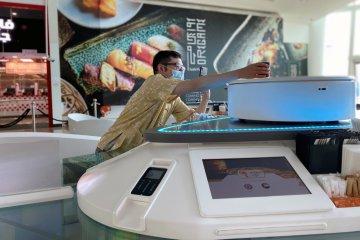 Cocok di tengah pandemi, kafe robot hadir di Dubai