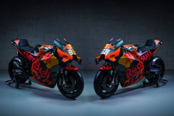 KTM luncurkan motor MotoGP 2021, Tech3 berganti livery