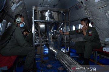 Kurangi banjir Jakarta, TNI AU-BPPT lakukan modifikasi cuaca