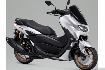 Yamaha tambah warna silver untuk New NMAX 155 Connected/ABS