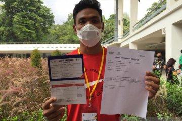 Atlet Indonesia ajak masyarakat tidak takut divaksin COVID-19