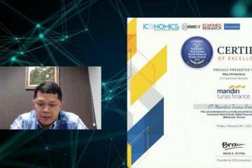 "Mandiri Tunas Finance raih ""Most Popular Digital Brand"""