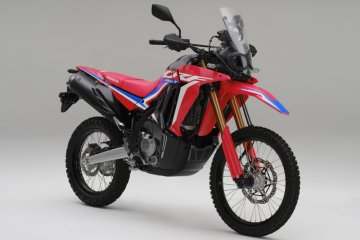 Honda CRF250 RALLY hadir dengan berbagai perubahan