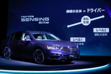 Honda Legend, sedan berfitur otonom level 3 pertama di dunia