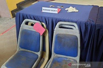 Tersangka pencuri kursi TransJakarta manfaatkan longgarnya pengamanan