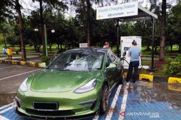 Implementasi kendaraan listrik mampu turunkan impor BBM 373 juta barel