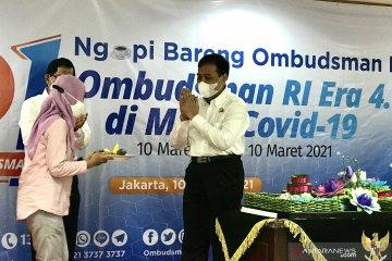 Peringati HUT ke-21, Ombudsman tekankan pentingnya layanan 4.0