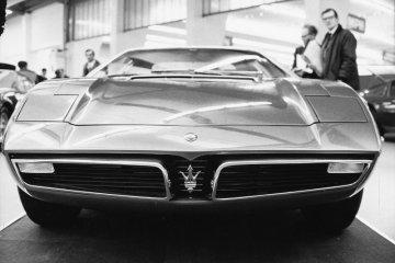 Maserati peringati hari jadi ke-50 tahun Maserati Bora
