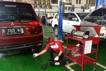Bengkel Mitsubishi sediakan layanan uji emisi