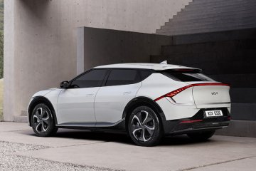 Kia unjuk desain mobil listrik EV6