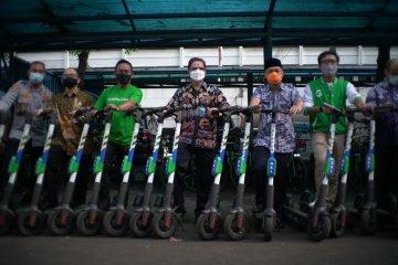 """Grabwheels hadir dukung mobilitas """"eco-friendly"""" di Dishub DKI"""
