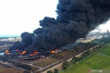 Kemarin, stok BBM aman setelah Kilang Balongan terbakar hingga beras